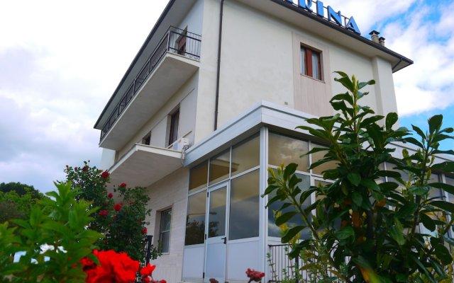 Отель Albergo Villa Marina Кьянчиано Терме вид на фасад