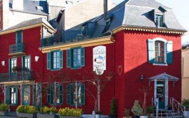 Отель Les Petites Vosges вид на фасад