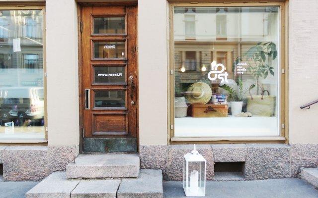 Отель Roost Roba 2 Финляндия, Хельсинки - отзывы, цены и фото номеров - забронировать отель Roost Roba 2 онлайн вид на фасад
