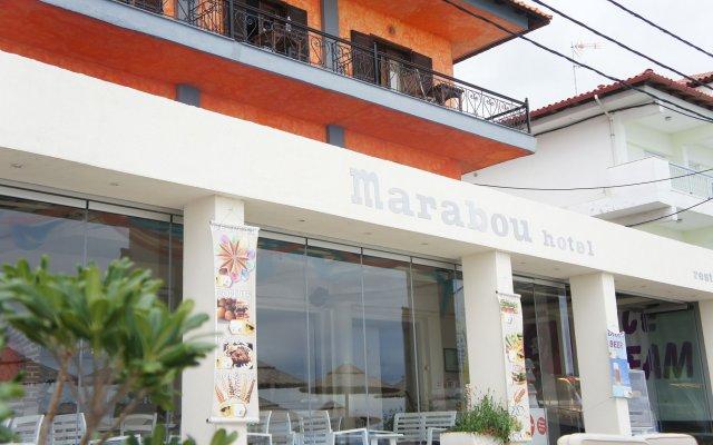 Отель MARABOU Пефкохори вид на фасад