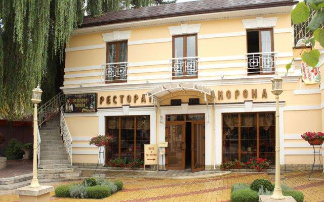 Гостиница Корона вид на фасад