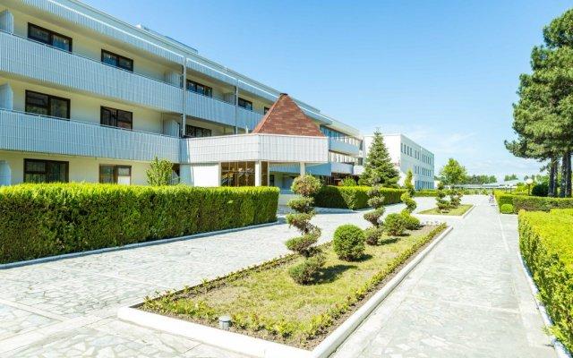 Гостиница Пансионат Ласточка вид на фасад