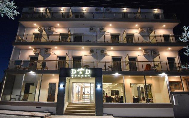 Отель Ntanelis вид на фасад