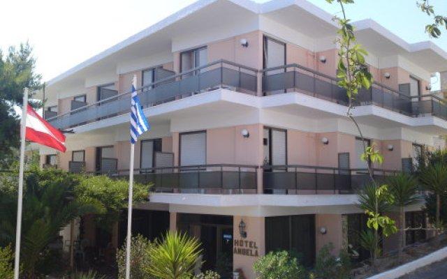 Angela Hotel вид на фасад