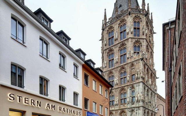 Stern am Rathaus