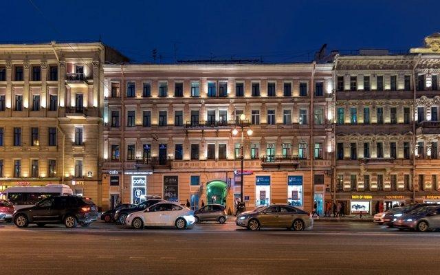Отель Spb2Day Nevskiy 81 Санкт-Петербург вид на фасад