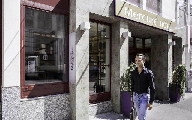 Отель Mercure Wien Zentrum вид на фасад