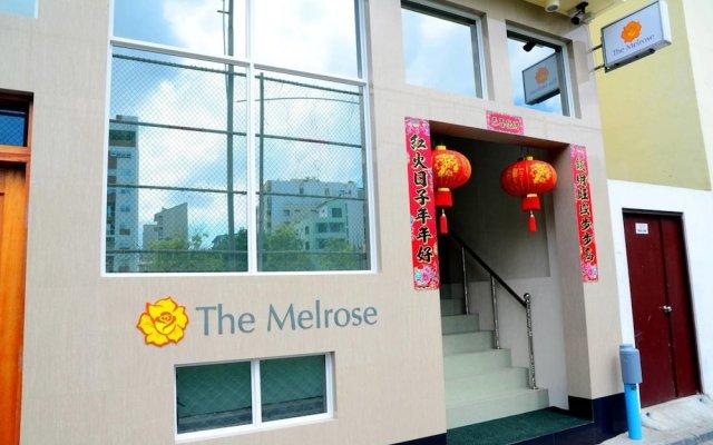 Отель The Melrose вид на фасад