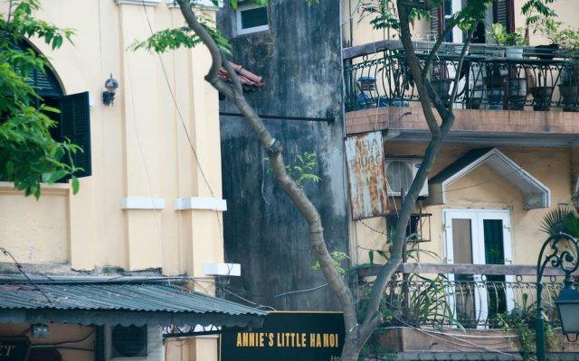 Отель Annie'S Little Hanoi Ханой вид на фасад