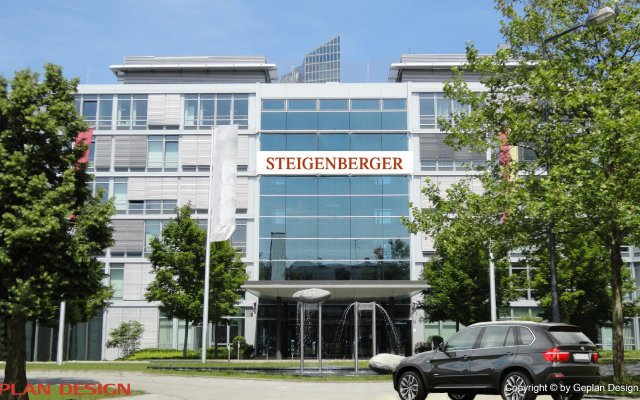 Steigenberger Hotel Muenchen вид на фасад