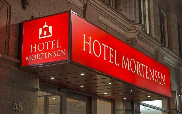 Отель MORTENSEN Мальме вид на фасад