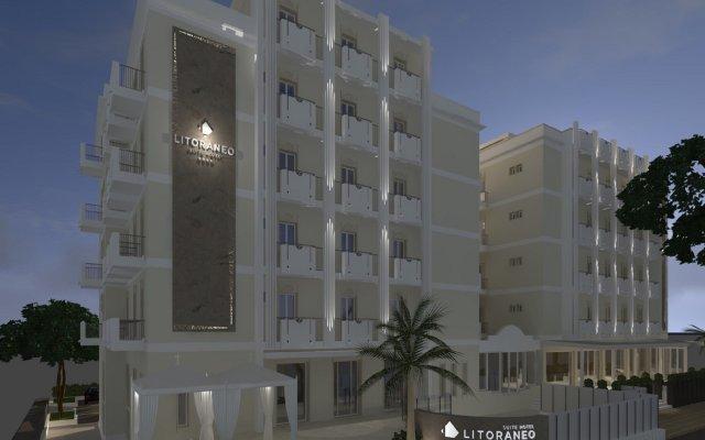 Litoraneo Suite Hotel вид на фасад