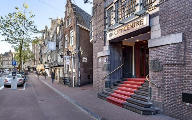 Отель Nh Amsterdam City Centre Амстердам вид на фасад