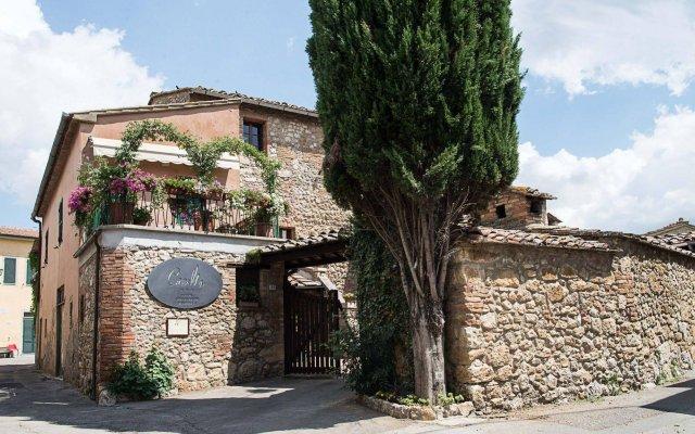 Отель Albergo Casalta Строве вид на фасад