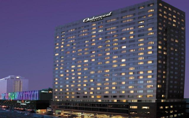 Отель Oakwood Premier Coex Center Южная Корея, Сеул - отзывы, цены и фото номеров - забронировать отель Oakwood Premier Coex Center онлайн вид на фасад