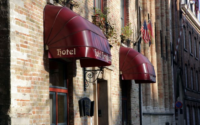 Отель Bryghia Hotel Бельгия, Брюгге - отзывы, цены и фото номеров - забронировать отель Bryghia Hotel онлайн вид на фасад