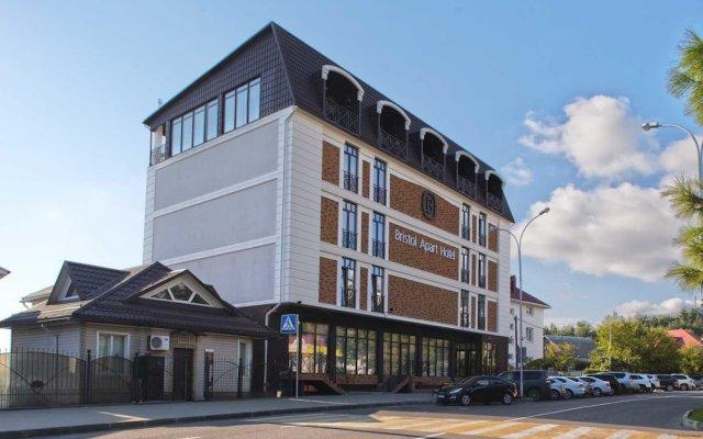 Гостиница Bristol Apart Hotel в Лазаревском отзывы, цены и фото номеров - забронировать гостиницу Bristol Apart Hotel онлайн Лазаревское вид на фасад