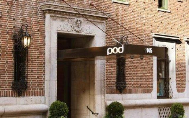 Отель Pod 39 США, Нью-Йорк - 8 отзывов об отеле, цены и фото номеров - забронировать отель Pod 39 онлайн вид на фасад
