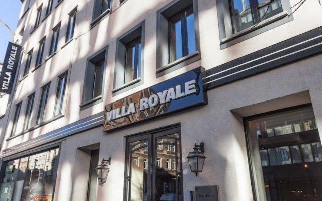 Отель Villa Royale Hotel Бельгия, Брюссель - 3 отзыва об отеле, цены и фото номеров - забронировать отель Villa Royale Hotel онлайн вид на фасад