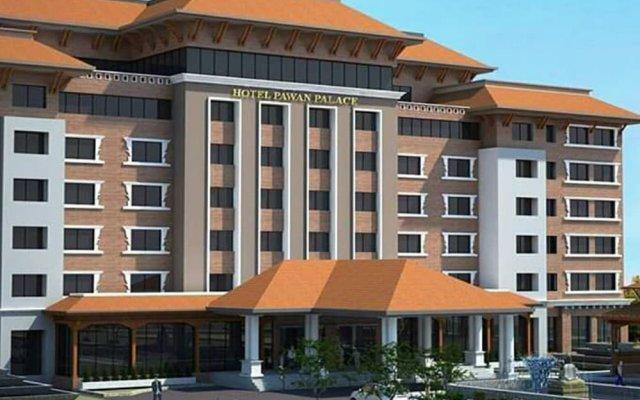 Отель Pawan Palace Lumbini Непал, Лумбини - отзывы, цены и фото номеров - забронировать отель Pawan Palace Lumbini онлайн вид на фасад