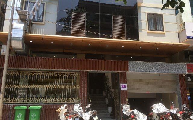 Azumaya Hotel Linh Lang вид на фасад