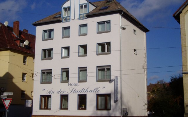 Отель An der Stadthalle вид на фасад