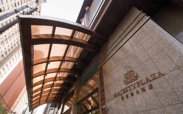 Отель Majesty Plaza Shanghai вид на фасад