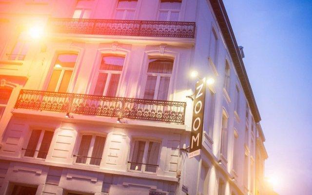 Zoom Hotel Брюссель вид на фасад