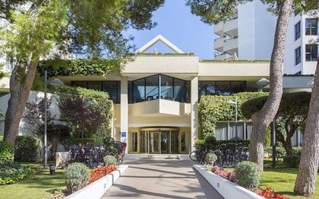 Отель Hipotels Bahía Grande Aparthotel вид на фасад