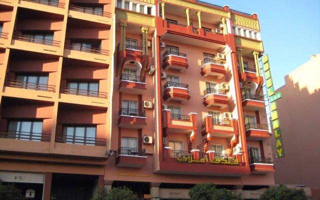Amalay Hotel вид на фасад