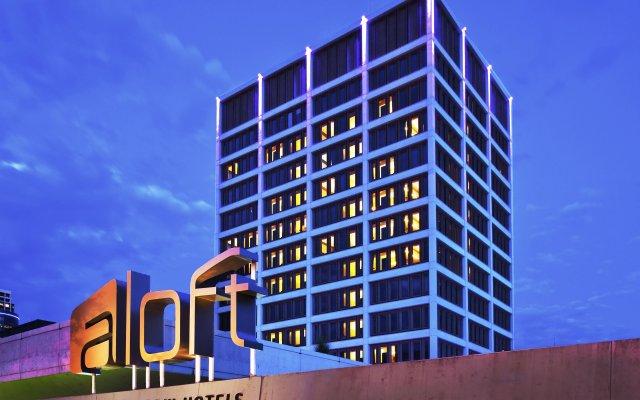 Отель Aloft Tulsa Downtown США, Талса - отзывы, цены и фото номеров - забронировать отель Aloft Tulsa Downtown онлайн вид на фасад