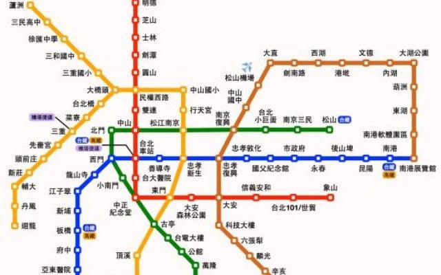 Shipai MRT Station 3 minutes / WiFi / Suite A