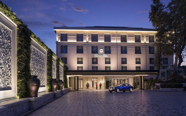 Отель Shangri-La Bosphorus, Istanbul вид на фасад