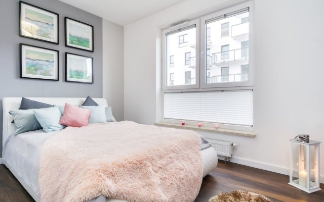 Апартаменты Elite Apartments Cityview Center Гданьск комната для гостей