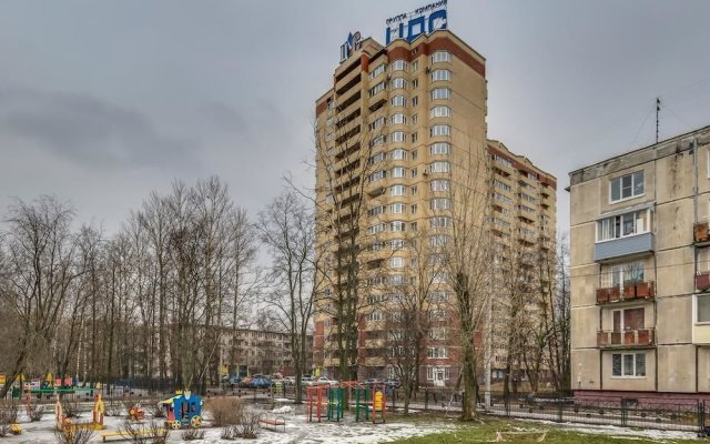 Апартаменты Apartment on Yuriya Gagarina 14 вид на фасад
