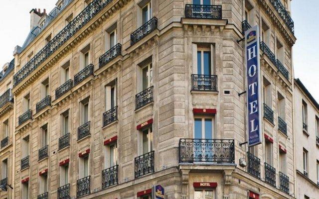 Отель Best Western Nouvel Orléans Montparnasse вид на фасад