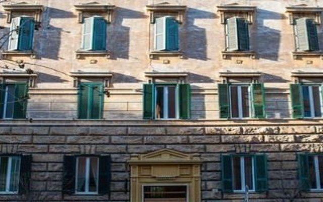 Отель La Dimora Dei Sogni Al Vaticano вид на фасад
