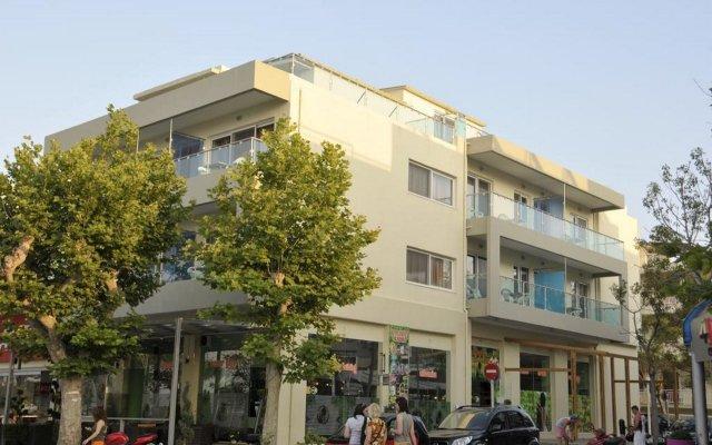 Отель Bristol Hotel & Apartments Греция, Кос - отзывы, цены и фото номеров - забронировать отель Bristol Hotel & Apartments онлайн вид на фасад