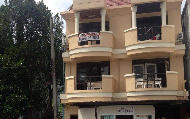 Апартаменты Nin Apartments Karon Beach вид на фасад