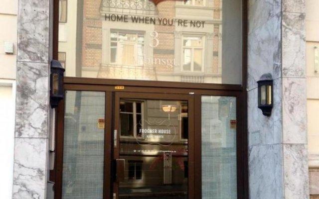 Отель Frogner House Apartments - Arbinsgate 3 Норвегия, Осло - 1 отзыв об отеле, цены и фото номеров - забронировать отель Frogner House Apartments - Arbinsgate 3 онлайн вид на фасад