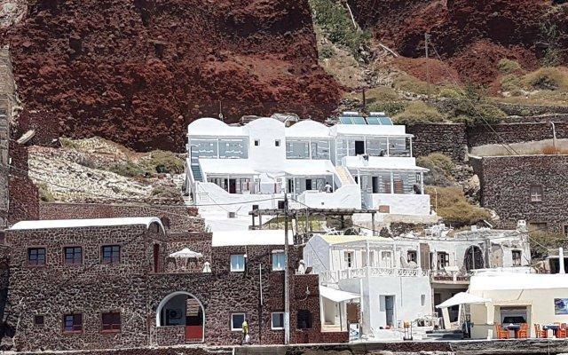 Отель Amoudi Villas Греция, Остров Санторини - отзывы, цены и фото номеров - забронировать отель Amoudi Villas онлайн вид на фасад
