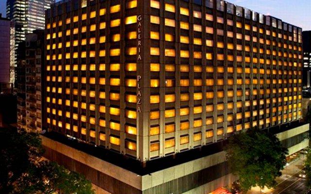 Отель Galeria Plaza Reforma Мехико вид на фасад