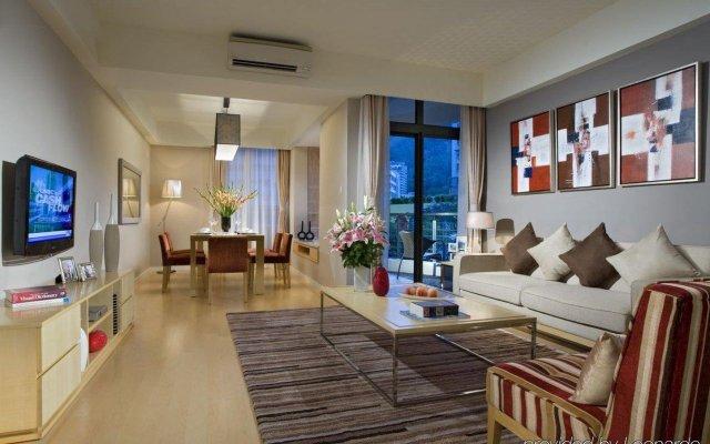 Отель Somerset Garden City Shenzhen Hotel Китай, Шэньчжэнь - отзывы, цены и фото номеров - забронировать отель Somerset Garden City Shenzhen Hotel онлайн комната для гостей