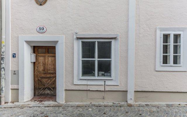 Отель APT - Stone Lodge Salzburg Зальцбург вид на фасад