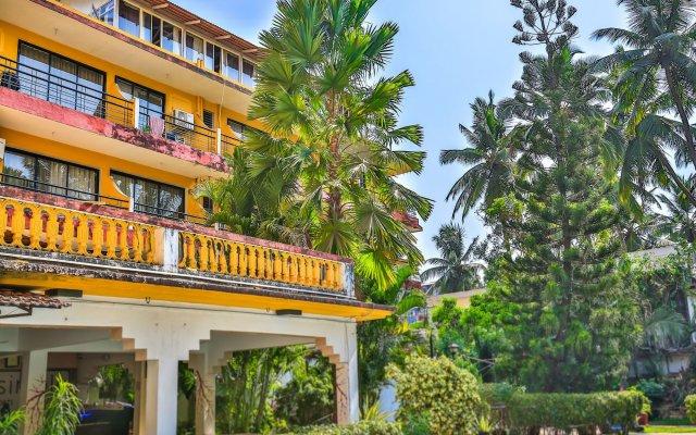 Отель OYO 14036 Calangute Гоа вид на фасад