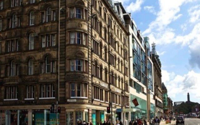 Отель Old Waverley Hotel Великобритания, Эдинбург - отзывы, цены и фото номеров - забронировать отель Old Waverley Hotel онлайн вид на фасад