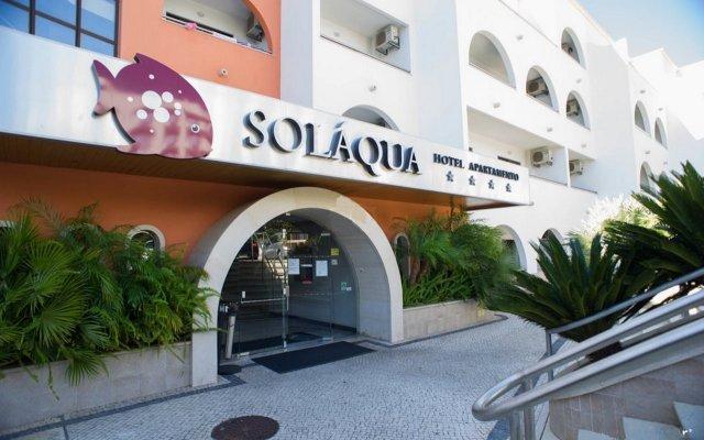 Отель Luna Solaqua вид на фасад