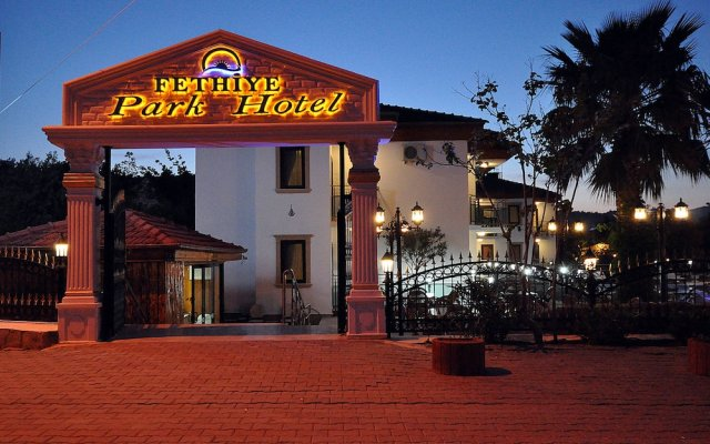 Fethiye Park Hotel вид на фасад