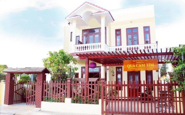 Отель Qua Cam Tim Homestay Хойан вид на фасад