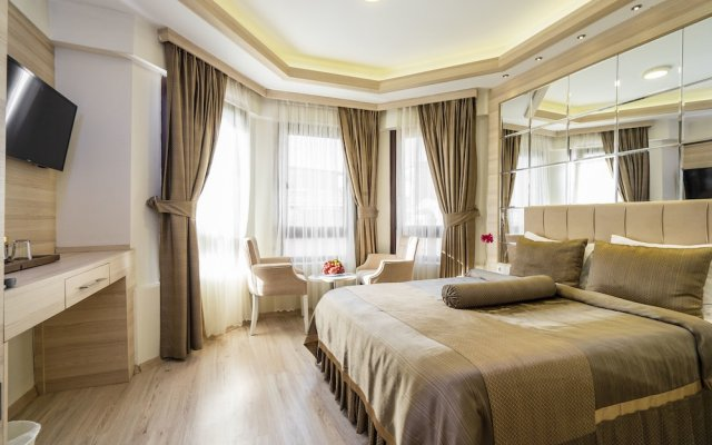 Istanbul Center Hotel комната для гостей